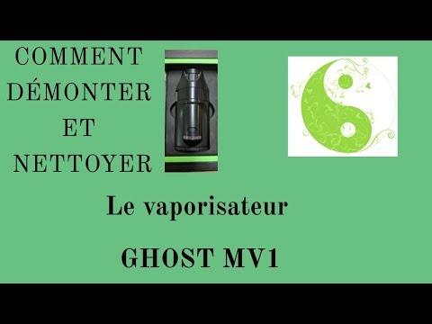 Comment bien nettoyer le vaporisateur GHOST MV1 / how to clean GHOST MV1 black stealth FR / ENG