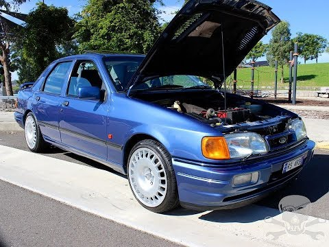 Ford Sierra Saphire RS Cosworth Grass Roots Garage