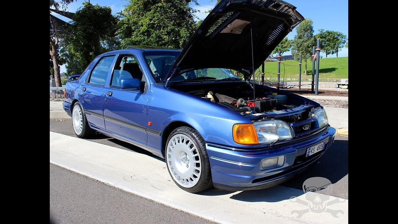 Ford sierra saphire rs cosworth grass roots garage youtube for Garage ford nice