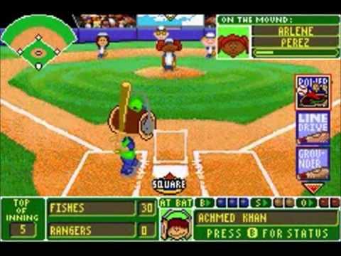 Backyard Baseball (GBA) - World Series Game 3 - YouTube