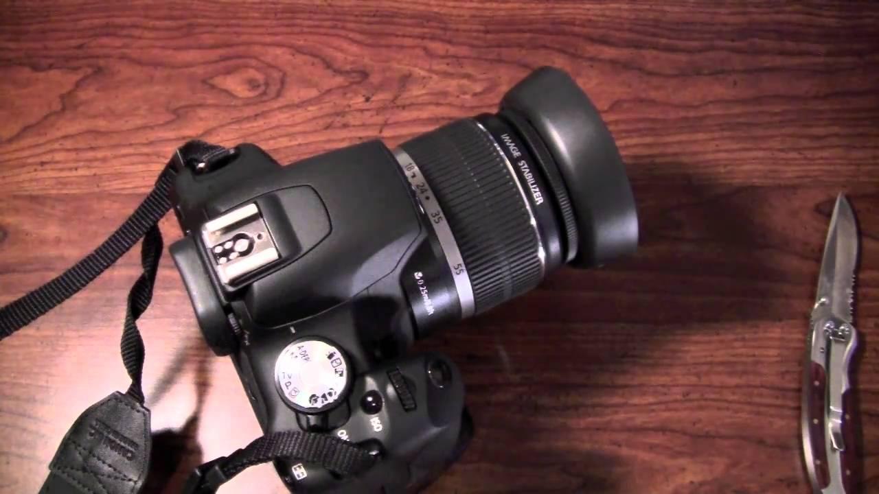 Canon 18-55mm Lens Hood