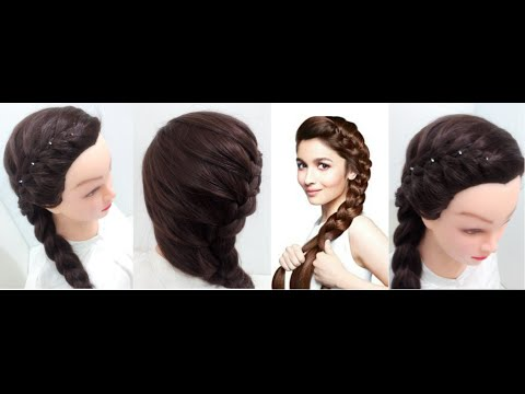 Side Braid: Hairstyles for medium hair