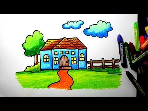 Easy Way To Draw A House