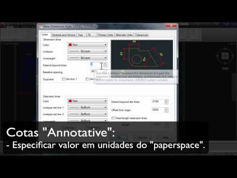 15. AutoCAD - Tutorial Cotas - Parte 1