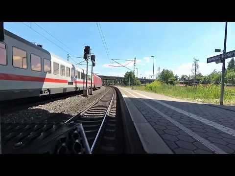Führerstandsmitfahrt #018 - Teilweise Regional Nach Lüneburg
