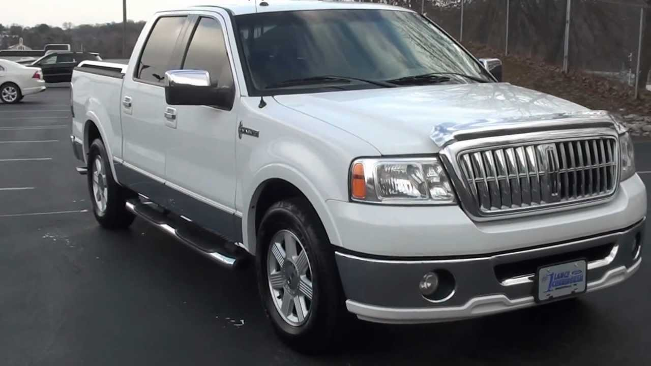 for sale 2007 lincoln mark lt stk 110129a. Black Bedroom Furniture Sets. Home Design Ideas
