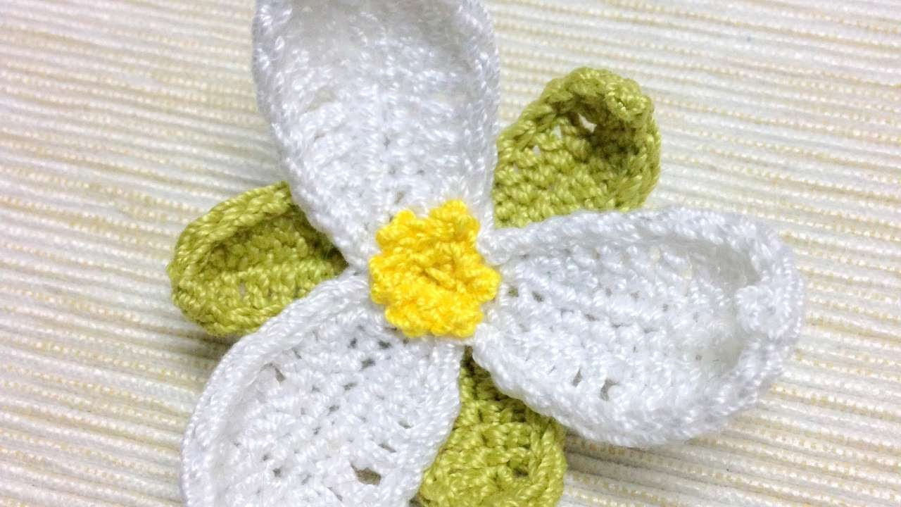 How To Make A Tender Trillium Flower Brooch - DIY Crafts Tutorial ...