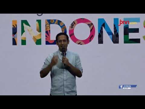 Harapan Nadiem Makarim kepada Google di Acara Google For Indonesia