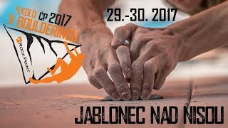 4. kolo Boulderzávody Jablonec nad Nisou 2017