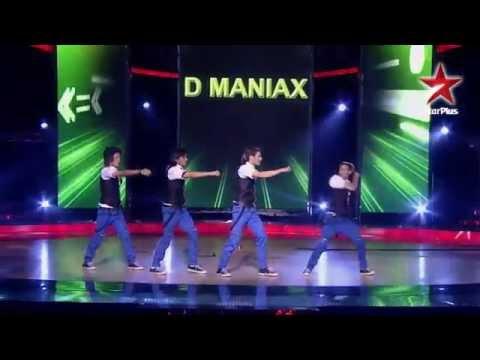 Indias Dancing SuperStar Lyrical hip hop by D Maniax Group