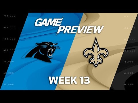 Carolina Panthers vs. New Orleans Saints | NFL Week 13 Game Preview | Move the Sticks
