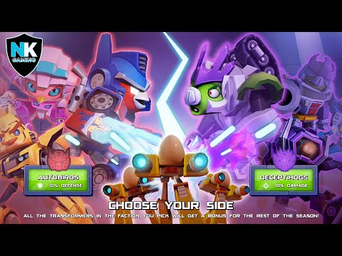 Angry Birds Transformers 2.0 - War Pass Season 1 Preview
