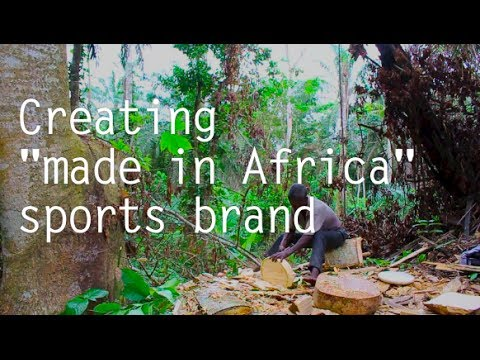 """Creating """"made in Africa"""" sports brand"""