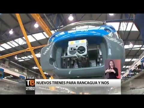 Nuevos Trenes - Proyecto Rancagua Express, Chile (2016)