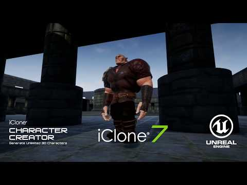 iClone & Unreal UE4 - Tutorial Trailer