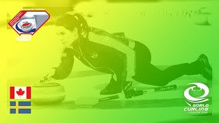 Canada V Sweden   Round Robin   World Mixed Doubles Curling Championship 2019
