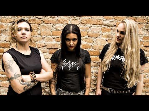 NERVOSA's Prika Amaral on 'Agony', Relentless Touring, Women In Metal & Thrash Metal (2016)