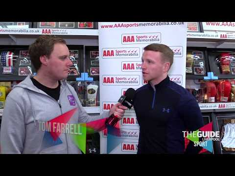 SPORT: Interview with Liverpool Boxer Tom Farrell