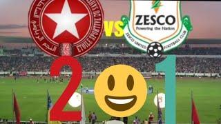 Etoile de sahel vs Zesco 2-0  😀 replay احبابي الروابط أسفل الفيديو