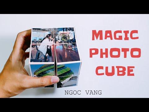 PHOTO CUBE / Album hình khối ảo thuật - NGOC VANG