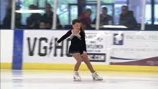 Lilah Bibas 05/2018 Yorba Linda ICE - US figure skating competition