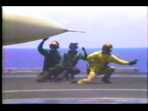 USS Abraham Lincoln Flight Ops 1991