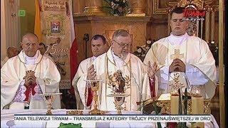Msza św. z okazji 25-lecia święceń biskupich ks. bp. Antoniego Pacyfika Dydycza