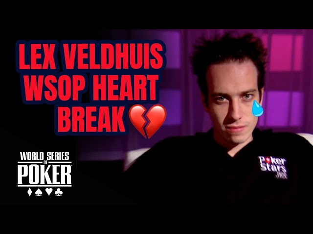 Lex Veldhuis Gets Wrecked at the 2009 World Series of Poker