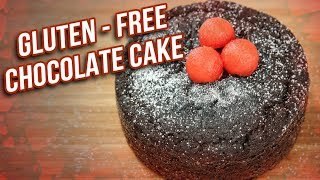 Gluten - Free Chocolate Cake Recipe - How To Make Spongy Chocolate Cake - Dessert Recipe - Ruchi