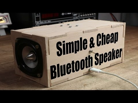 Thumbnail: Make your own Simple & Cheap Portable Bluetooth Speaker