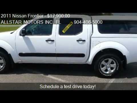 Allstar Motors Inc >> 2011 Nissan Frontier SV - for sale in MIDDLEBURG, FL 32068 - YouTube