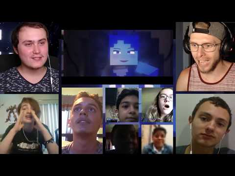 """""""Dance To Forget""""  FNAF SL Minecraft   Song by TryHardNinja REACTION MASH-UP261"""