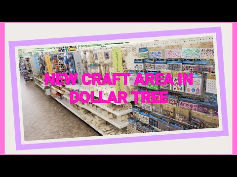 💜 ALL THE NEW CRAFT ITEMS AT DOLLAR TREE 💜