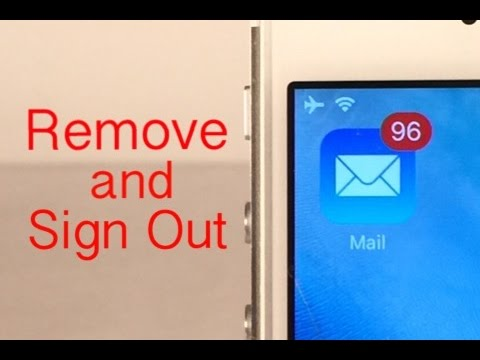 how to logout of mail on iphone how to remove sign out of a mail account on iphone 8416