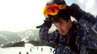 My first season of snowboarding in Bukovel 2013  GoPro(Мой первое видео сделанное в Premiere Pro, моего первого сезона катания на борде на горнолыжном курорте Буковель..., 2013-04-18T12:12:49.000Z)