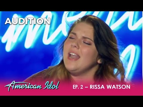 Risaa Watson: A Small Town Girl Brings 'ADELE' To The Idol! | American Idol 2018