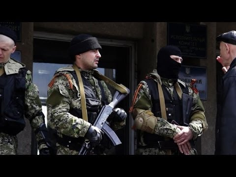 Ukraine: Slavyansk still