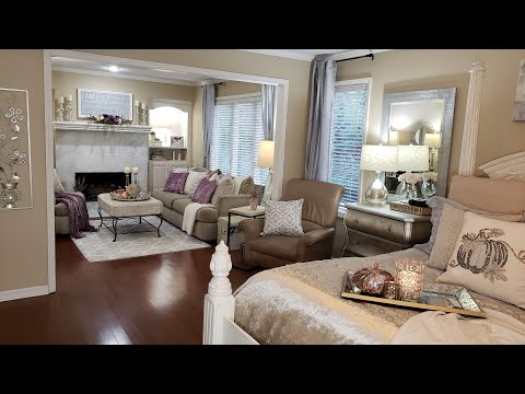 2019 Fall Home Tour/ LVR, BDR, DR, KIT, BATH, ENTRY & HOME OFF/Glam/Farmhouse Chic