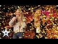 GOLDEN BUZZER! Mother and daughter, Honey & Sammy get a GOLDEN opportunity! | Auditions | BGT 2020