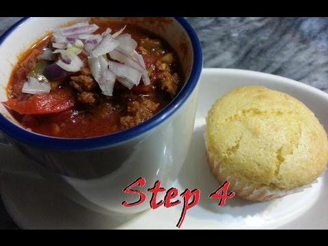Home Made Chili Recipe - Step 4 [HD]