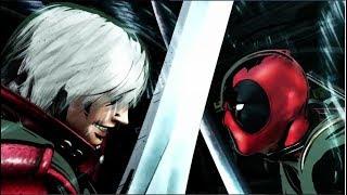 Marvel Vs Capcom 3 Cutscenes Dante Vs Deadpool