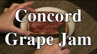 How To Make And Can Concord Grape Jam