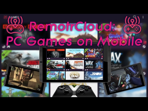 Overview: Remotr Cloud Gaming [PC Games on Android/iOS]