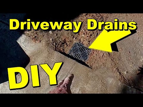 Driveway Drainage, Channel Drain or Catch Basin?