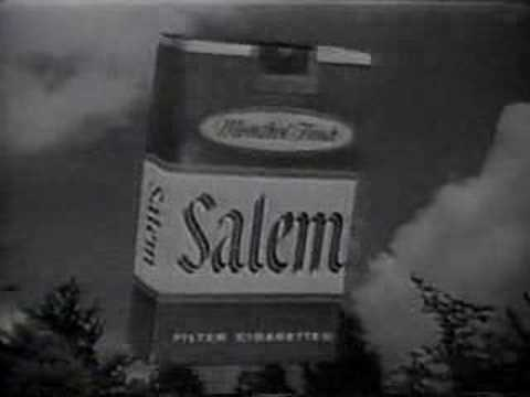Old cigarette commercial