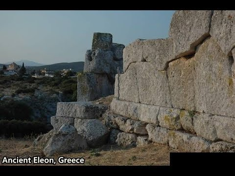 Excavations in ancient Eleon, Boeotia, Greece