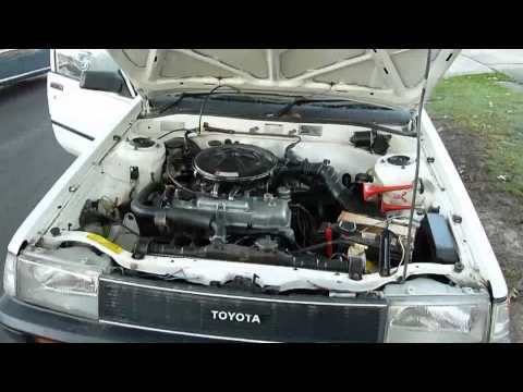 Look at Old E82 Toyota Corolla with 4A-C Engine with V8jagnut