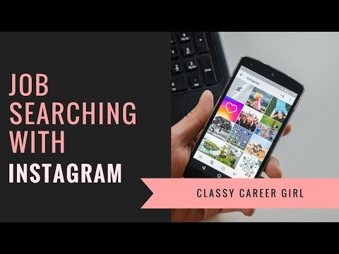 Job Searching With Instagram