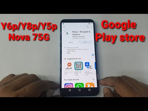 How to install google play store on Huawei Y6p/ Y8p/Y5p/Nova 7 5G। Easy way.