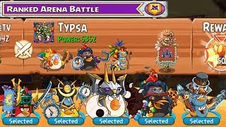 Angry Birds Epic - PvP Ranked Arena Battle! Part 310